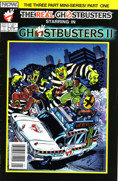 Cover for Ghostbusters II (Now, 1989 series) #1