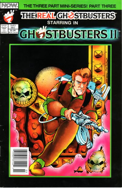 Cover for Ghostbusters II (Now, 1989 series) #3