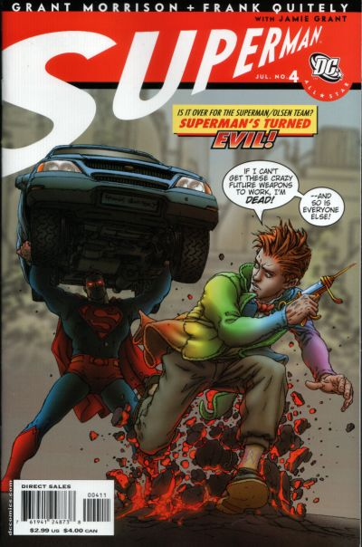 Cover for All Star Superman (DC, 2006 series) #4 [Direct Sales]
