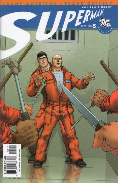 Cover for All Star Superman (DC, 2006 series) #5