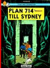 Cover for Tintins äventyr (Bonnier Carlsen, 2004 series) #22 - Plan 714 till Sydney