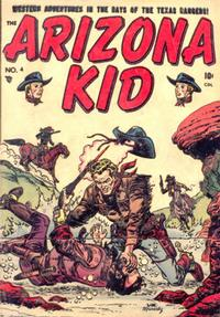 Cover Thumbnail for The Arizona Kid (Superior Publishers Limited, 1951 series) #4
