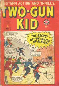 Cover Thumbnail for Two-Gun Kid (Bell Features, 1948 series) #7