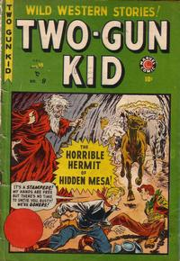 Cover Thumbnail for Two-Gun Kid (Bell Features, 1948 series) #9 [10]