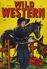 Cover Thumbnail for Wild Western (Bell Features, 1948 series) #5