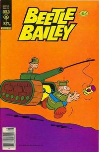 Cover Thumbnail for Beetle Bailey (Western, 1978 series) #122 [Gold Key Variant]