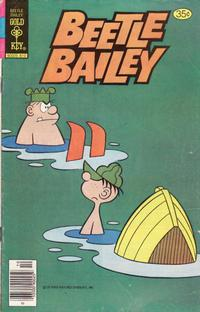 Cover Thumbnail for Beetle Bailey (Western, 1978 series) #123 [Gold Key]