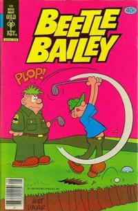 Cover Thumbnail for Beetle Bailey (Western, 1978 series) #128 [Gold Key]