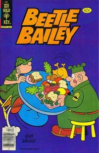 Cover Thumbnail for Beetle Bailey (Western, 1978 series) #131 [Gold Key]