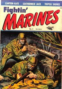 Cover Thumbnail for Fightin' Marines (St. John, 1951 series) #5