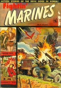 Cover Thumbnail for Fightin' Marines (St. John, 1951 series) #9
