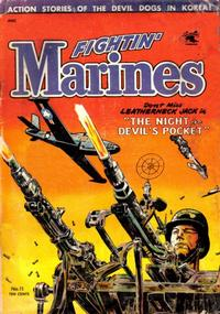 Cover Thumbnail for Fightin' Marines (St. John, 1951 series) #11