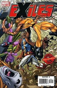 Cover Thumbnail for Exiles (Marvel, 2001 series) #73 [Direct Edition]