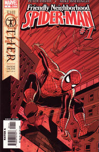 Cover Thumbnail for Friendly Neighborhood Spider-Man (Marvel, 2005 series) #1 [Mike Wieringo classic costume variant]
