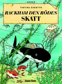 Cover Thumbnail for Tintins äventyr (Bonnier Carlsen, 2004 series) #12 - Rackham den rödes skatt