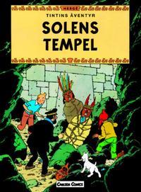 Cover Thumbnail for Tintins äventyr (Bonnier Carlsen, 2004 series) #14 - Solens tempel