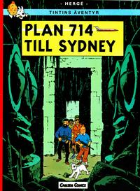 Cover Thumbnail for Tintins äventyr (Bonnier Carlsen, 2004 series) #22 - Plan 714 till Sydney