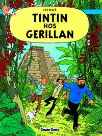 Cover Thumbnail for Tintins äventyr (Bonnier Carlsen, 2004 series) #23 - Tintin hos gerillan