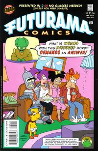 Cover Thumbnail for Bongo Comics Presents Futurama Comics (Bongo, 2000 series) #5