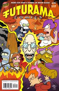 Cover Thumbnail for Bongo Comics Presents Futurama Comics (Bongo, 2000 series) #19