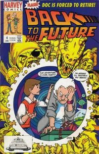 Cover Thumbnail for Back to the Future (Harvey, 1991 series) #4