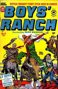 Cover Thumbnail for Boys' Ranch (Harvey, 1950 series) #3