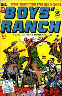 Cover Thumbnail for Boys' Ranch (Harvey, 1950 series) #3