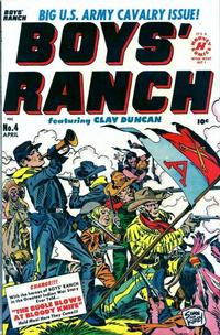 Cover Thumbnail for Boys' Ranch (Harvey, 1950 series) #4