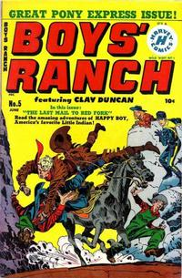 Cover Thumbnail for Boys' Ranch (Harvey, 1950 series) #5
