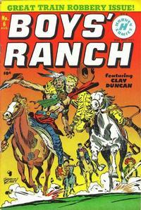 Cover Thumbnail for Boys' Ranch (Harvey, 1950 series) #6