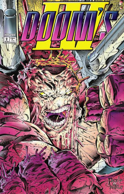 Cover for Doom's IV (Image, 1994 series) #2 [Brick Cover]