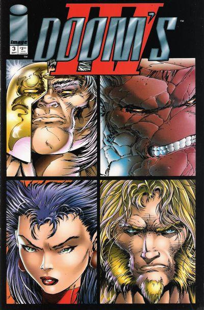 Cover for Doom's IV (Image, 1994 series) #3
