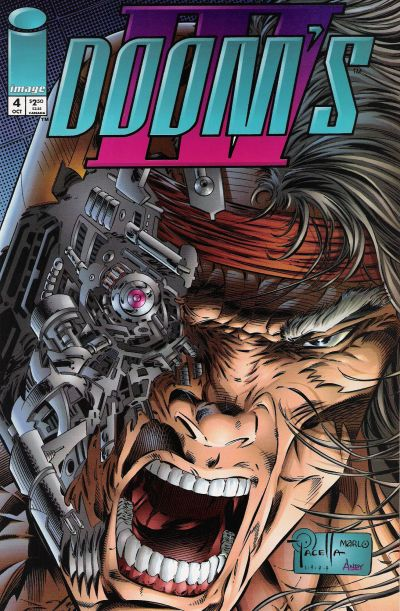 Cover for Doom's IV (Image, 1994 series) #4