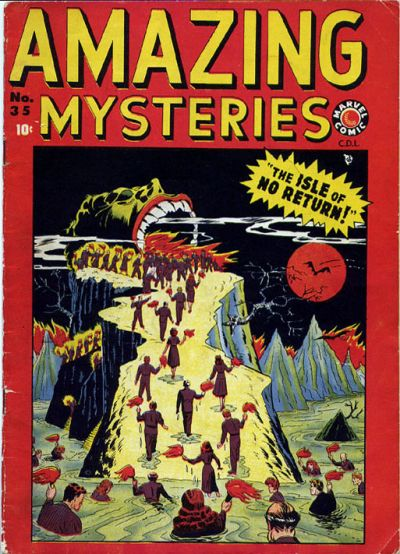 Cover for Amazing Mysteries (Bell Features, 1949 series) #35