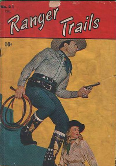 Cover for Ranger Trails (Bell Features, 1950 series) #21