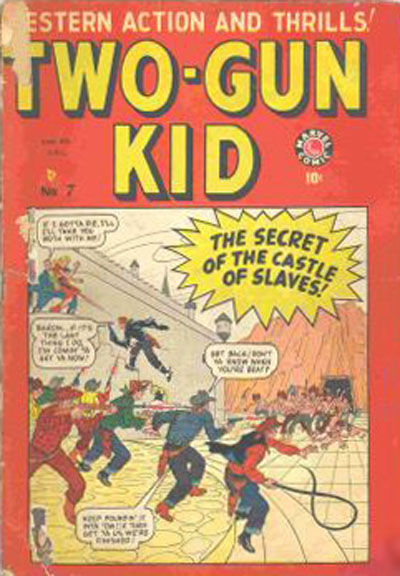 Cover for Two-Gun Kid (Bell Features, 1948 series) #7