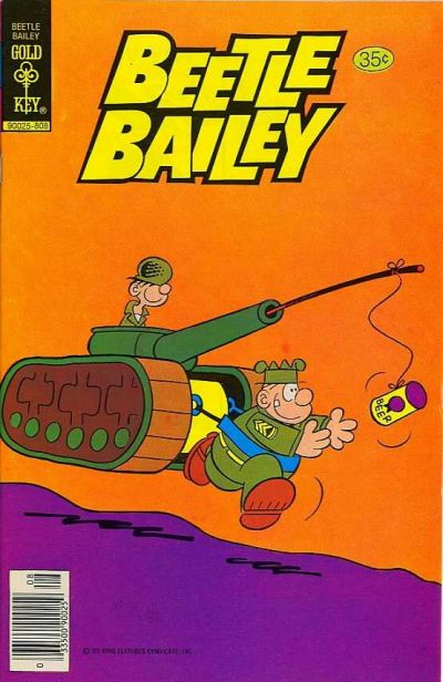Cover for Beetle Bailey (Western, 1978 series) #122 [Gold Key Variant]
