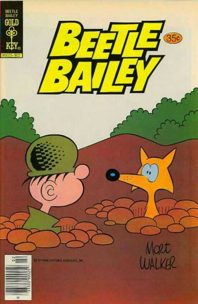 Cover for Beetle Bailey (Western, 1978 series) #125 [Gold Key]
