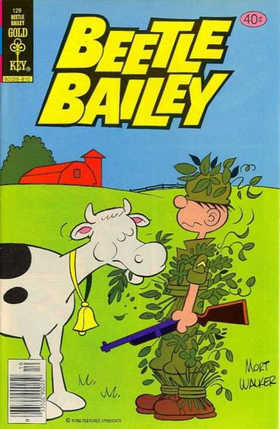 Cover for Beetle Bailey (Western, 1978 series) #129