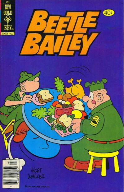 Cover for Beetle Bailey (Western, 1978 series) #131 [Gold Key]