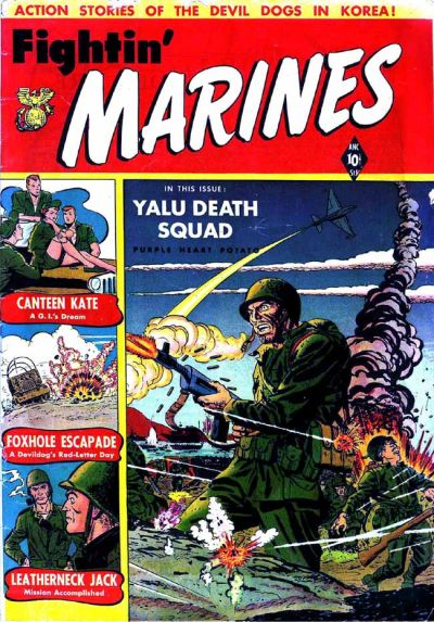 Cover for Fightin' Marines (St. John, 1951 series) #2