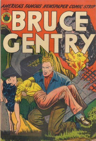 Cover for Bruce Gentry Comics (Superior Publishers Limited, 1948 series) #2