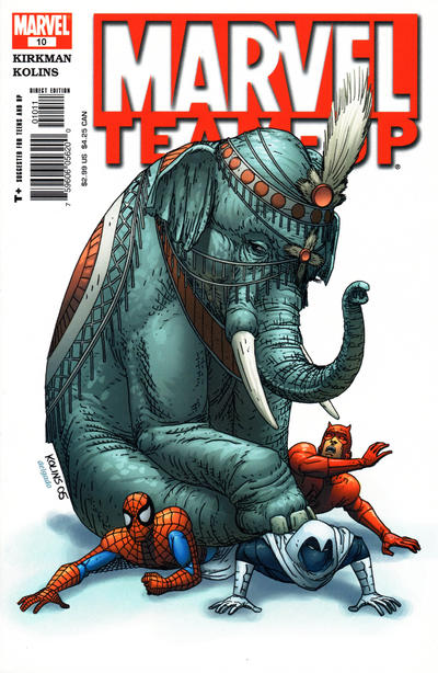 Cover for Marvel Team-Up (Marvel, 2005 series) #10