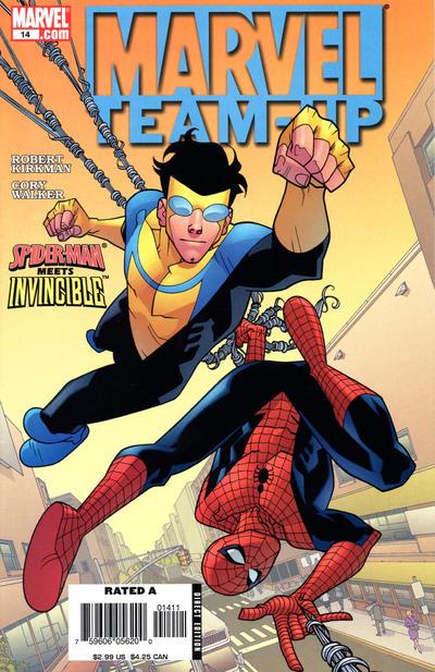 Cover for Marvel Team-Up (Marvel, 2005 series) #14