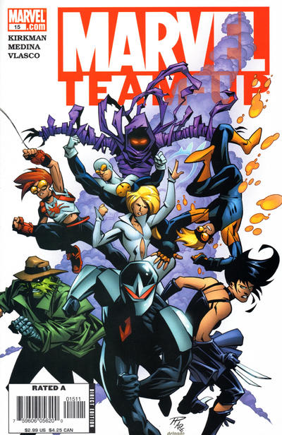 Cover for Marvel Team-Up (Marvel, 2005 series) #15