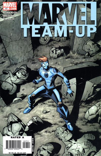 Cover for Marvel Team-Up (Marvel, 2005 series) #17