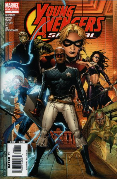 Cover for Young Avengers Special (Marvel, 2006 series) #1