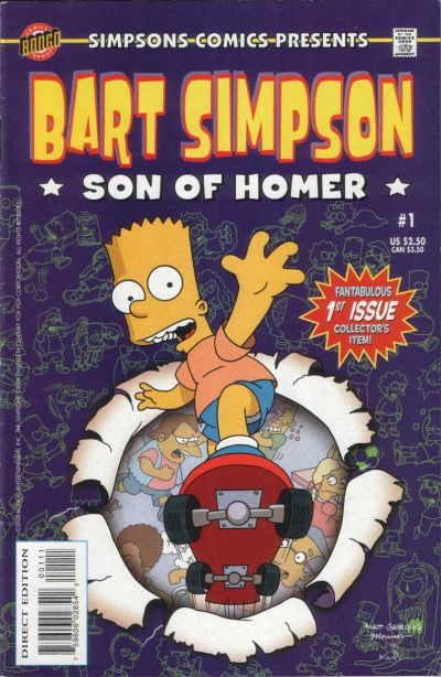 Cover for Simpsons Comics Presents Bart Simpson (Bongo, 2000 series) #1