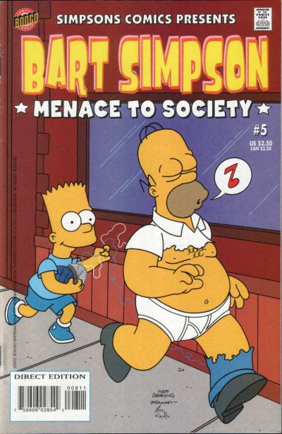 Cover for Simpsons Comics Presents Bart Simpson (Bongo, 2000 series) #5