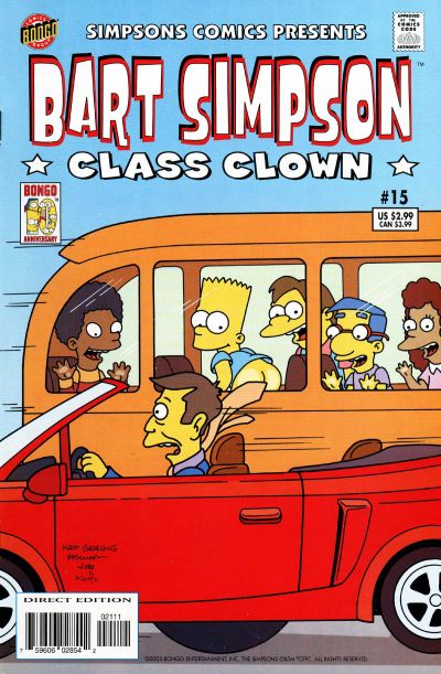 Cover for Simpsons Comics Presents Bart Simpson (Bongo, 2000 series) #15